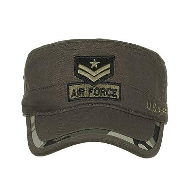 HCFKJ Gorras Militares De AlgodóN Lavado Cadet Caps DiseñO úNico ...