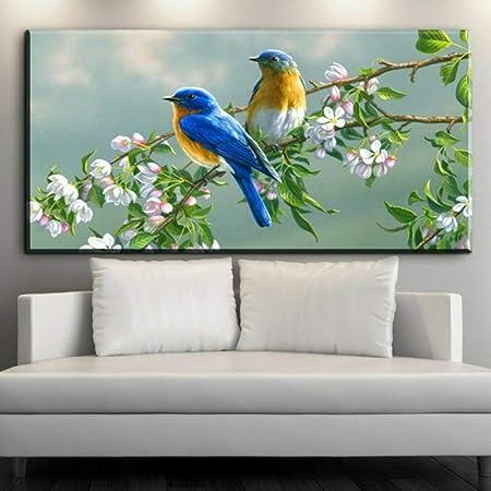 RTCKF HD Print Bird Canvas Chinese Style Art Prints ...