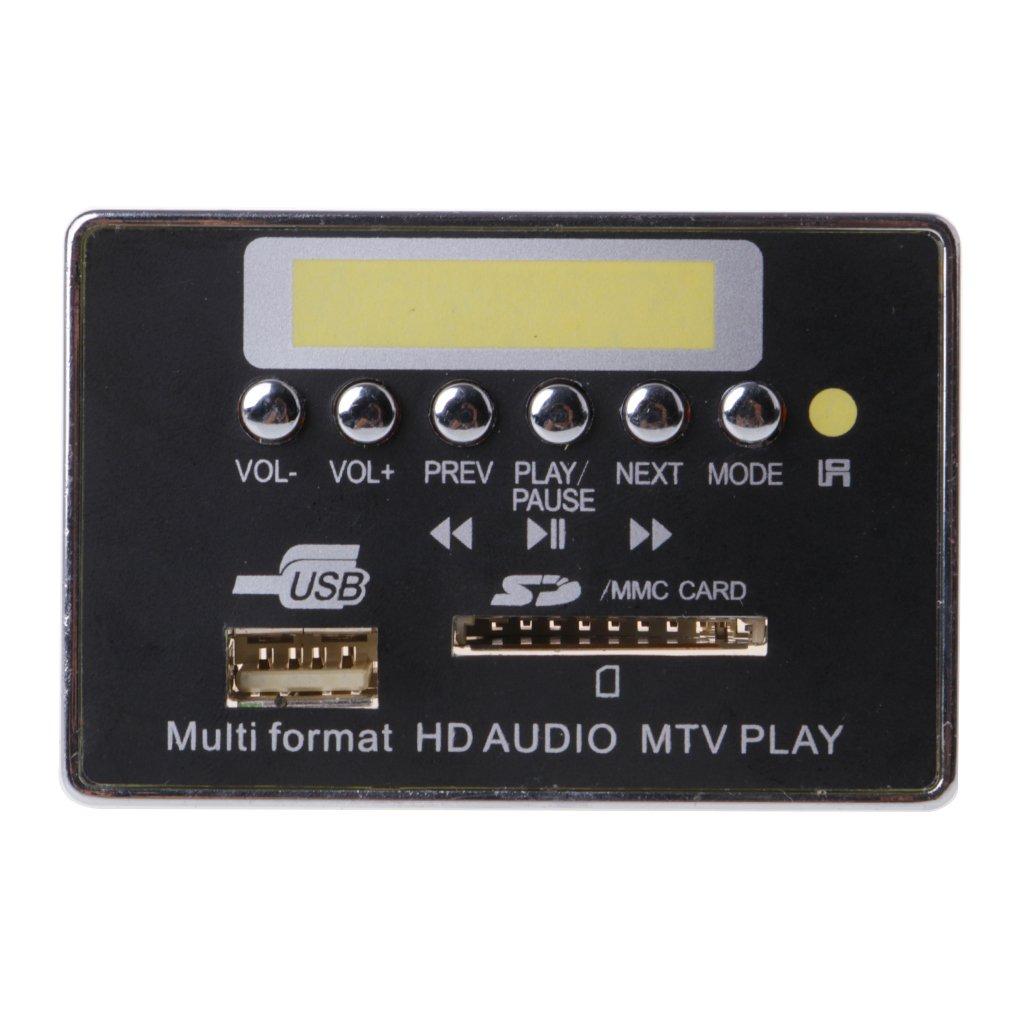 Ranuw Bluetooth ricevitore audio decoder ape//WAV//MP3/decodifica consiglio MTV HD video Player