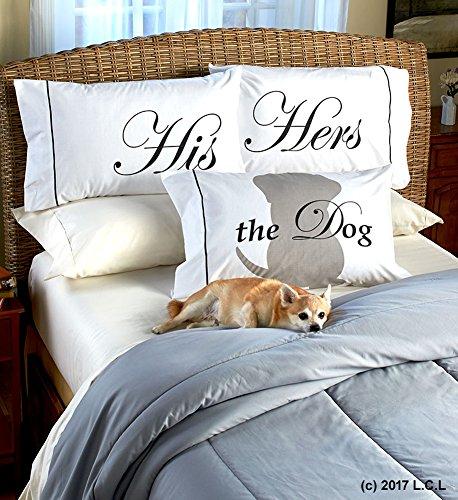- Pet Lovers 3 Piece Pillowcase Set