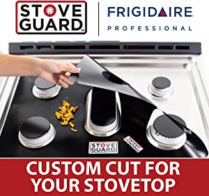 Frigidaire Stove Protectors - Stove Top Protector for Frigidaire Gas Ranges - Ultra Thin, Easy Clean Stove Liner
