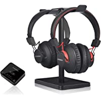 Avantree HT41899 Dual Bluetooth 5.0 Wireless Headphones for TV Watching (Set of 2) with Transmitter (Optical AUX RCA…