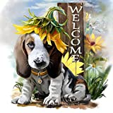 Cute DIY Dog 5D Diamond Painting , DIY Embroidery Home Decor Gifts (NO.1)