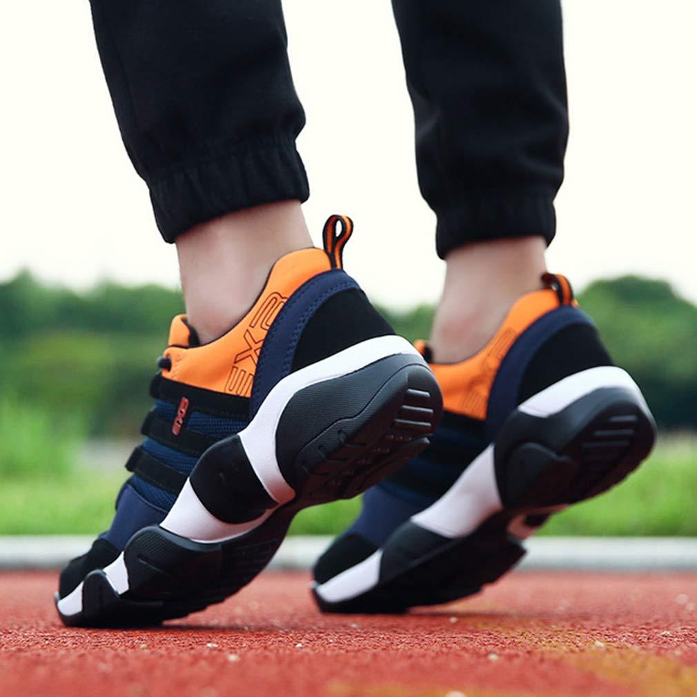 Femaroly , Herren Sportlich, Schwarz - schwarz Orange Orange Orange - Größe  39 57efc3