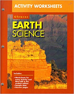 glencoe earth science activity worksheets ralph feather 9780028271859 books. Black Bedroom Furniture Sets. Home Design Ideas