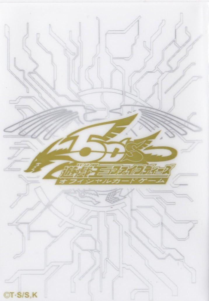 YU-GI-OH Card Deck Protectors 5Ds Duelist Card Sleeves Black 100