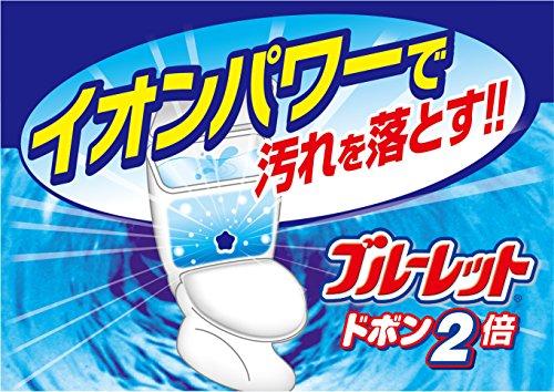 【まとめ買い】ブルーレットドボン2倍 トイレタンク洗浄剤 ハーブ 120g×3個