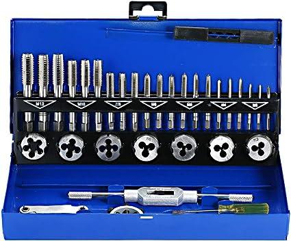 Gunpla Set taglio filettatura in acciaio legato filettatura metrica 32 pezzi