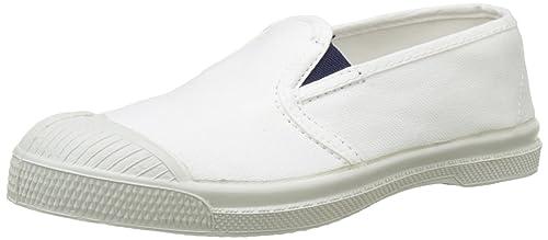 Bensimon Tennis Tommy Bicolor, Zapatillas para Niñas, (Blanc 101), 34 EU: Amazon.es: Zapatos y complementos