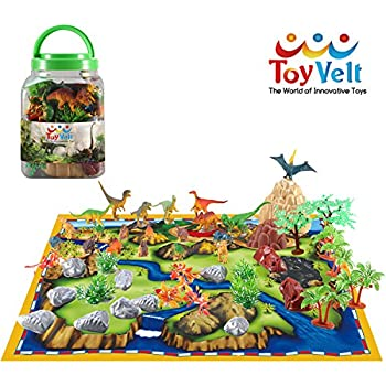 Amazon Com Imagination Generation 100 Piece Dinosaur And