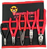 VAMPLIERS. World's Best Pliers! Cyber Monday Weekly Deals 5-PC SET S5BP Specialty Screw Extractions Pliers. Extract Stripped Stuck Security, Corroded or Rusted Screws/Nuts/Bolts With Tool Pouch