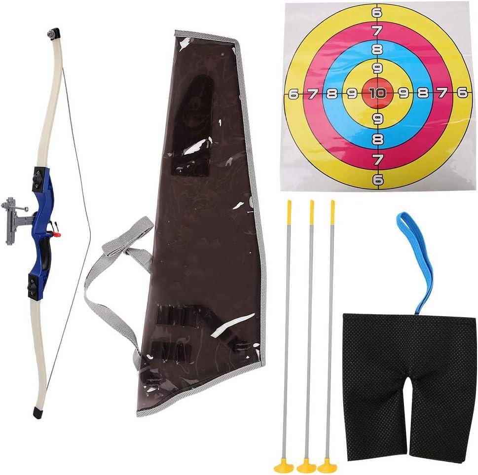 VGEBY Bogenschie/ßen Spielzeug ABS Durable Pfeil Bogen Spielzeug Set mit Saugnapf Score Ziel f/ür Kinder Outdoor Sports Game