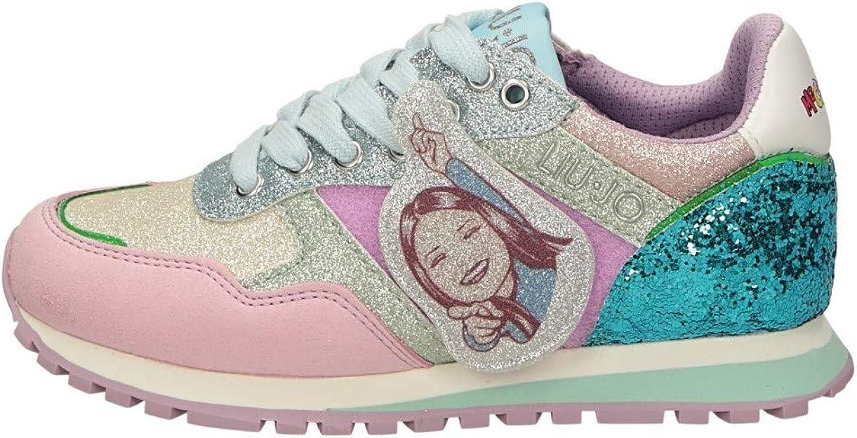 Liu Jo Wonder 1 4A0787EX Sneaker Liu Jo Me Contro Te, Primavera Estate 2020 Bambina Lui & SOFI Sintetico Lilac 26