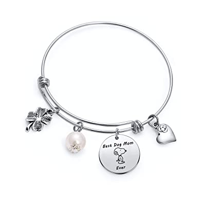 Dog Lover Bracelet For Girlfriend Best Friend Aunt Friendship