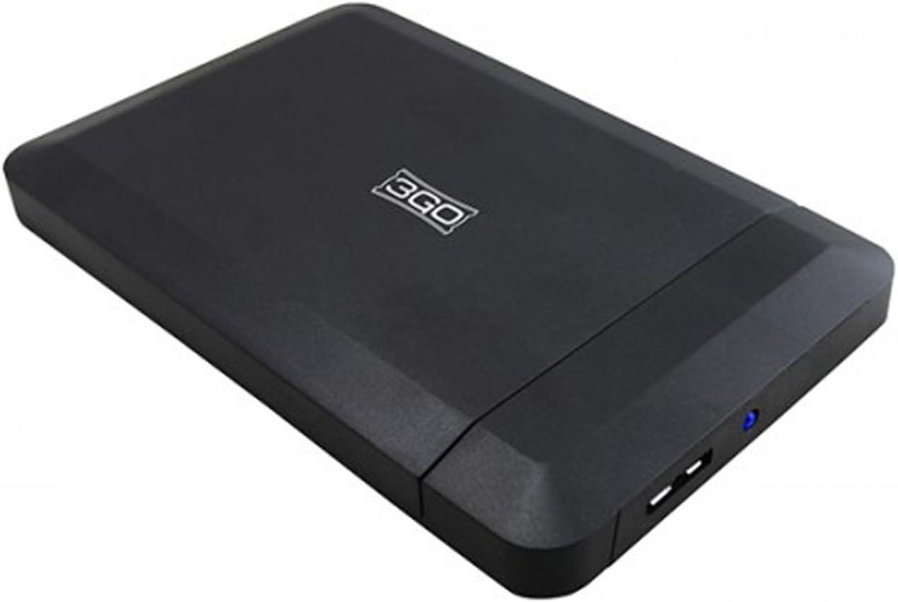 3GO HDD25BK315 - Caja Externa para Disco Duro de 2.5