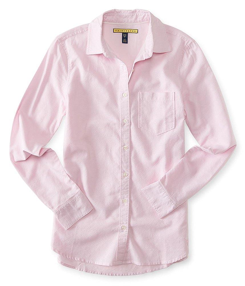 Aeropostale Womens Oxford Button Up Shirt
