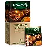 Greenfield Christmas Mystery, Black Tea Collection (Misterio de Navidad, Colección de Té Negro), 25 bolsitas (2g x 25…