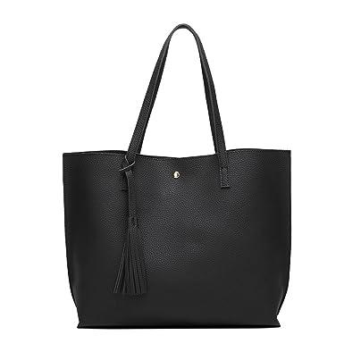 Lederhandtaschen Europäische Und Amerikanische Damen Handtaschen Mode Lychee Muster Schulter Messenger Bag,Grey-OneSize GKKXUE