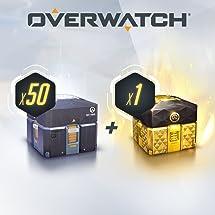 Amazon com: OVERWATCH - 50 ANNIVERSARY LOOT BOXES (+1 LEGENDARY BOX