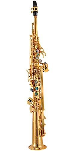 P. Mauriat System 76 One-Piece Professional Soprano Saxophone Gold Lacquer