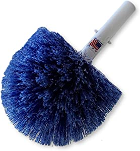 Destroyer One Year Manufacture Warranty Professional Swimming Pool Brushes Made in The USA (Specialty Corner Brushes, Specialty Corner Brush Duster)