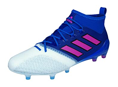 adidas Ace 17.1 FG Primeknit Mens Soccer Boots Cleats -Blue-7.5 a5dbc9add06e