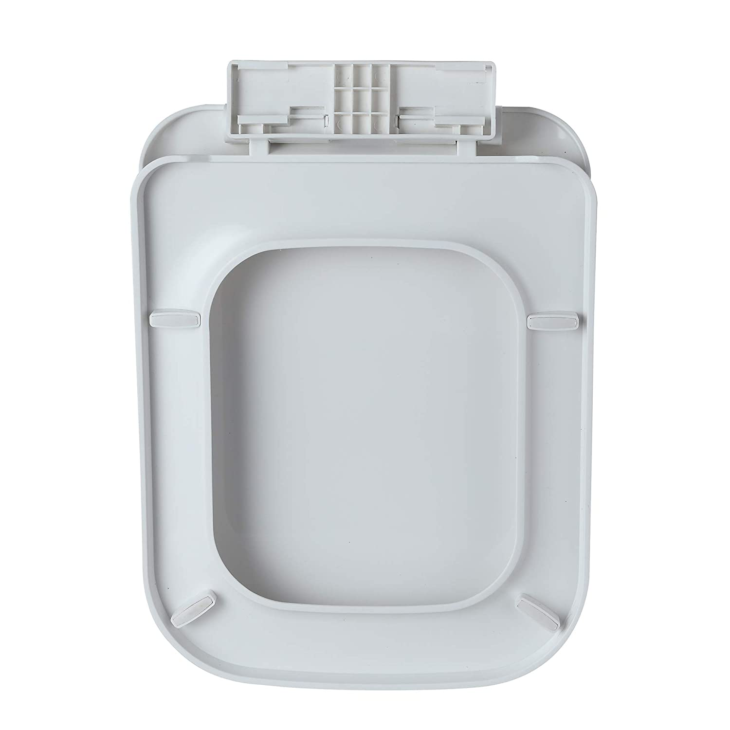 Eridanus 43.3 * 33.5 * 5cm Toilet Seat with Soft Close Hinges Made from Quality Polypropylene Series Flynn-01