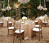 Cheapest 10PCS 120inch Round Sequin Tablecloth, Champagne Table Cloth Sparkly Wedding Tablecloth Evening Party Decoration