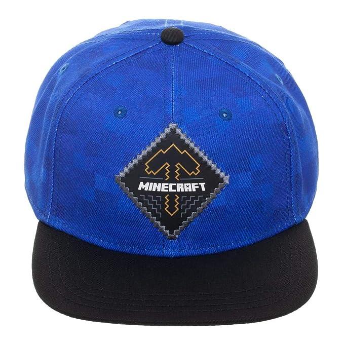 d0219c7b83d45 Amazon.com: Minecraft Expert Explorer Snapback Hat: Clothing