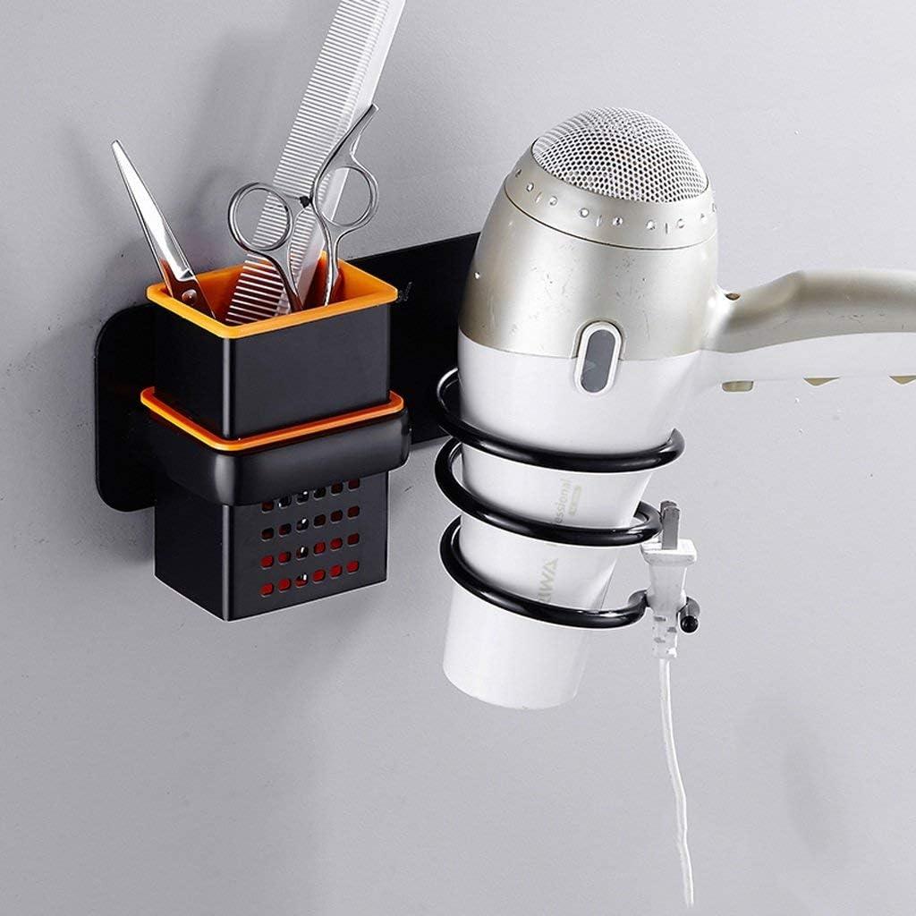 MWPO secador de Pelo secador Secadores de Cabello sin Perforaciones Bastidores Tubos de Aire Accesorios de baño para peluqueros Hoteles Ducha Habitaciones Etc (Color: B): Amazon.es: Hogar