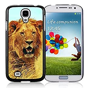 Element Samsung Galaxy S4 Case Lion Design Coolest Beast Silicone Soft Black Cell Phone Cover
