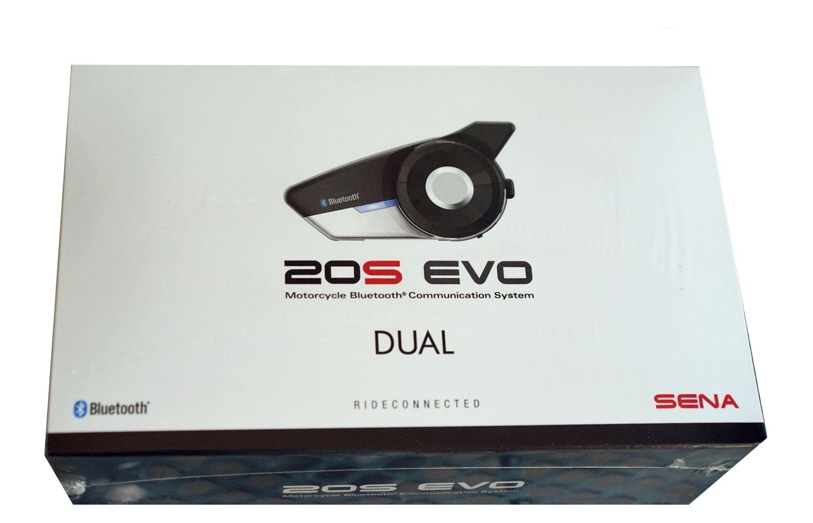SENA 20S EVO DUAL Bluetooth 4.1 Communication System for Motorcycles