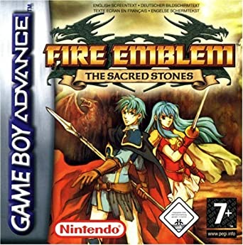 Nintendo Fire Emblem The Sacred Stones Gba Juego Gba Game Boy