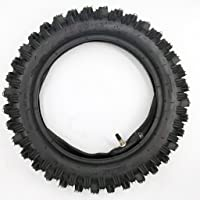 "80/100-12 3.00-12 12"" Inch Rear Knobby Tire + Inner Tube for CRF 70 PW 80 KLX 110 SSR 110TR 125CC PIT PRO Dirt Bike"