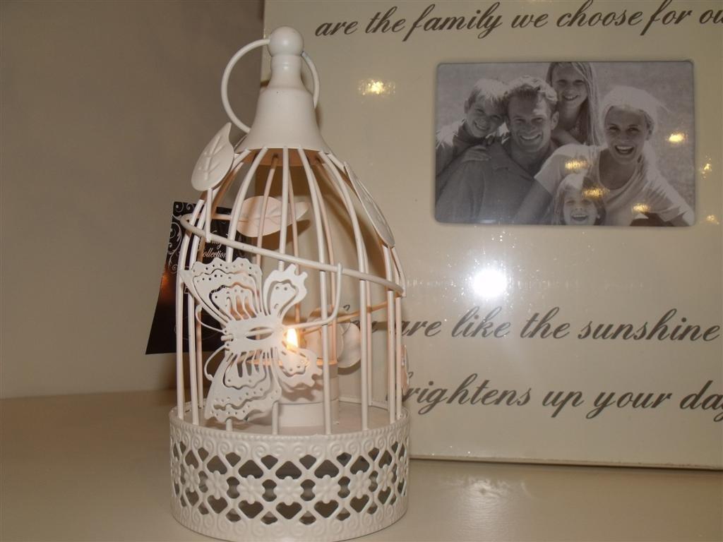 ornamental BIRDCAGE tealight lantern conservatory planter bird cage wedding Vintage Collection UKASNHKTN7960