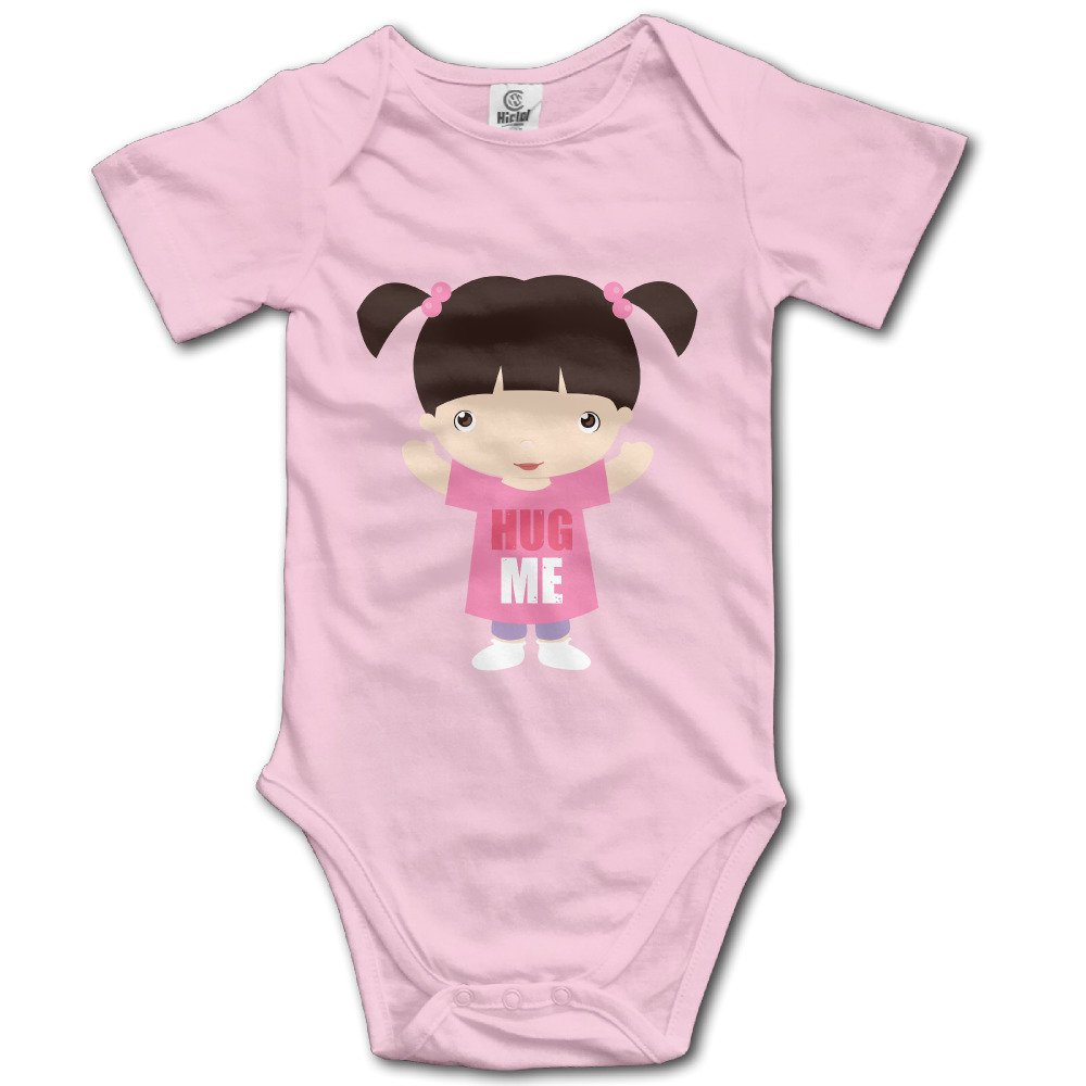 7614e38bf96 Amazon.com  Monsters Inc Hug ME Customed Baby Boy Girl Jumpsuit Cotton Soft  Fashion  Clothing