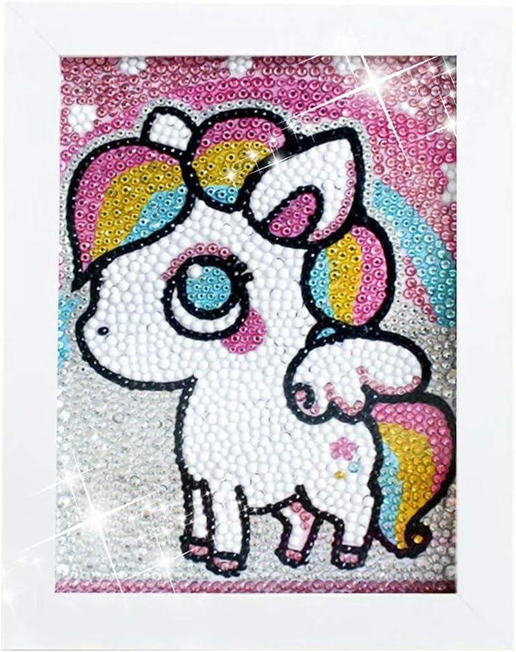 Full Drill DIY 5D Diamond Painting Seven Horses Embroidery Art Cross Stitch Kits