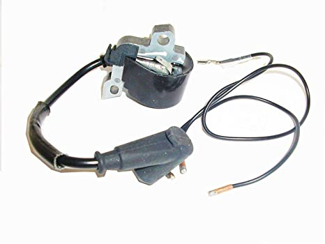 Stihl 029, 028, 026, 036, MS290, 034, 038, 044 Ignition Coil Replacement  for Stihl # 0000-400-1300, Includes Switch Wires! Ships from USA