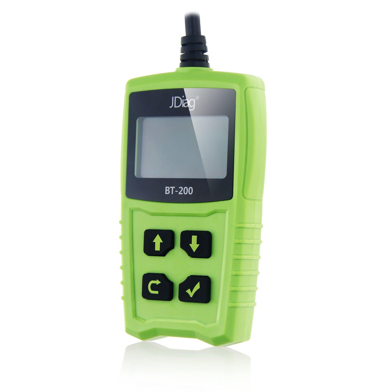 JiDao JD BT200 Universal 12V 100-1700 CCA Automotive Load Battery Tester Digital Analyzer Bad Cell Test Tool 5559179023