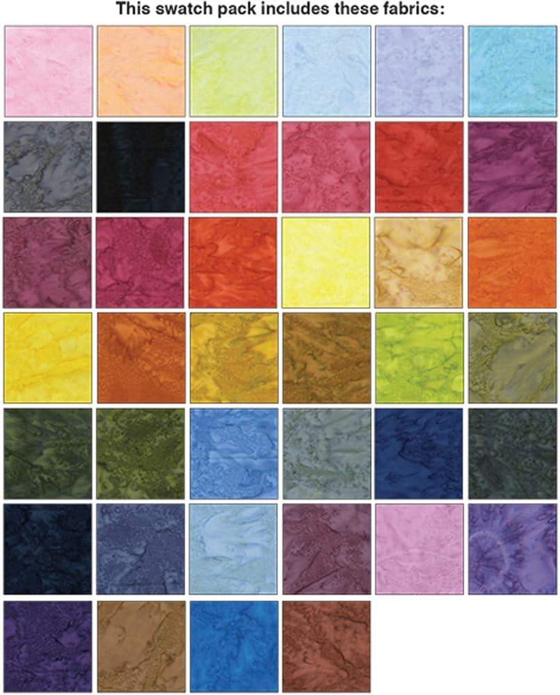 Stone Quarry Strip-Pies 40 2.5-inch Strips Jelly Roll Benartex Assorted