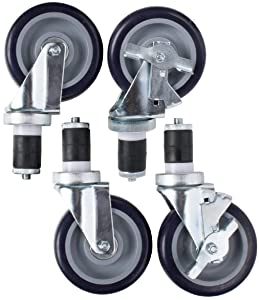 """AmGood Work Table Wheels 