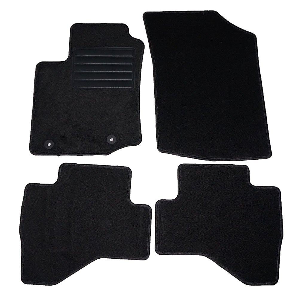 Tapis de voiture sur mesure en velours agugliato–Série 2-battitacco–2Fix