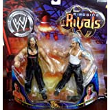 Jeff Hardy vs. Matt Hardy WWE Ringside Rivals Toy Figures