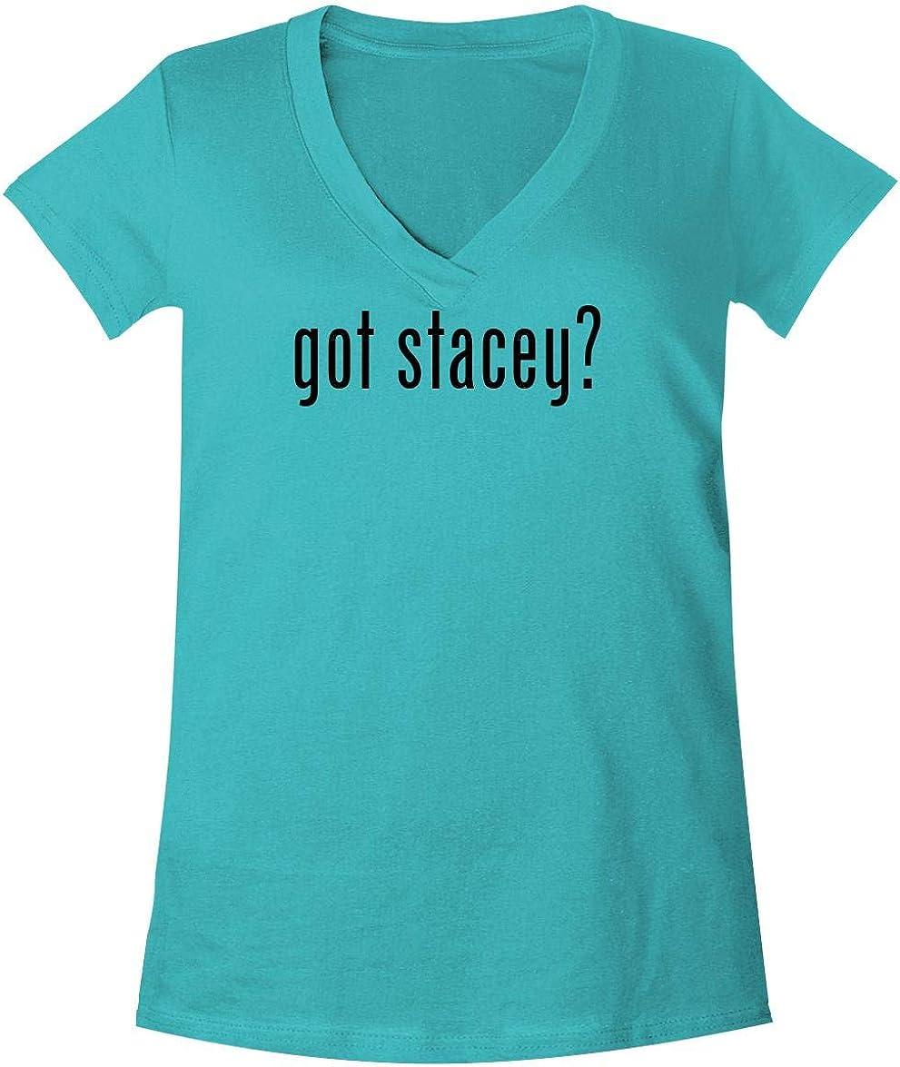The Town Butler got Stacey? - A Soft & Comfortable Women's V-Neck T-Shirt
