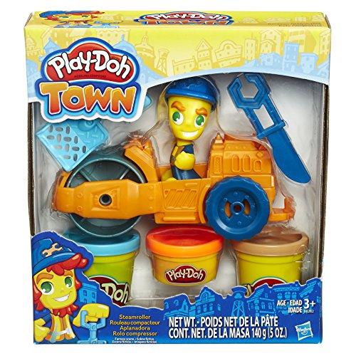 Conjunto Massinha Play-Doh Town Rolo Compressor Hasbro