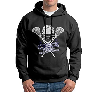 Xiaoting men check yourself lacrosse funny gifts classic baseball xiaoting mens check yourself lacrosse funny gifts fashion walk black fleece s solutioingenieria Choice Image