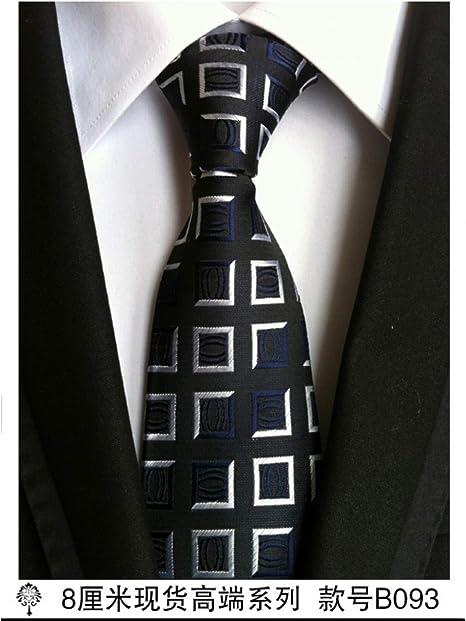 RZXLSZ Corbatas para Hombre Corbata Negra Accesorios De Vestir ...