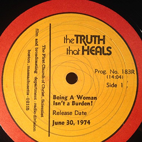 Price comparison product image THE TRUTH THAT HEALS Being A Woman Isn't A Burden / Face Retirement With Prayerful Action vinyl record