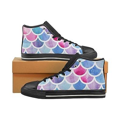 Fashion Sneaker Aquila High Top Canvas Mens Shoes