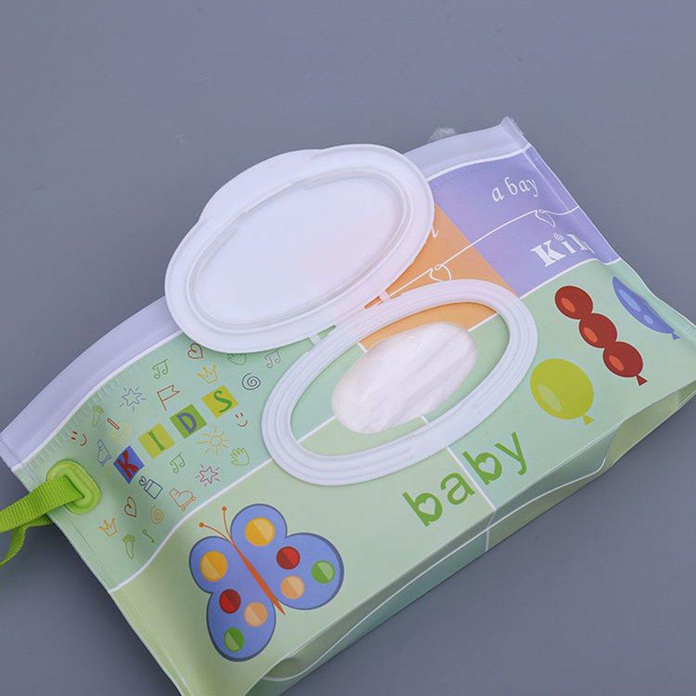 Baby Outdoor Portable Wet Tissue Dispenser Case Infant Reusable Stroller Pram Wet Wipes Box Convenient Tissue Case For Travel #3